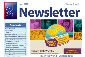 EUD Children's Ministries Newsletter